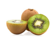 Kiwi fruit with slices Royalty Free Stock Image