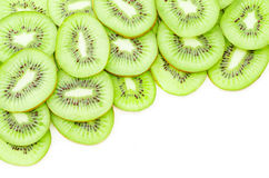 Kiwi fruit slices. Royalty Free Stock Photography
