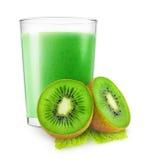 Kiwi Fruit Smoothie Immagine Stock Libera da Diritti