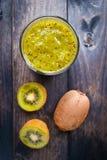 Kiwi Fruit Smoothie Fotografia Stock