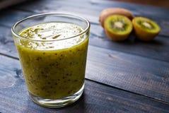 Kiwi Fruit Smoothie Fotografie Stock