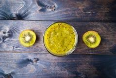 Kiwi fruit smoothie Royalty Free Stock Photography