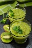 Kiwi fruit smoothie Stock Photography
