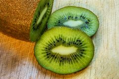 A kiwi fruit. Some fresh citrus fruit for a good health Stock Image