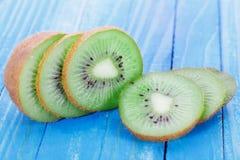 Kiwi fruit on the table Stock Images