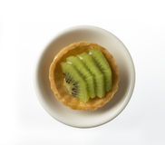 Kiwi Fruit tart Royalty Free Stock Images