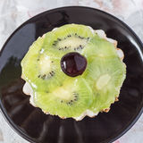 Kiwi fruit tart Stock Images