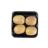 Kiwi fruit in tray. Stock Photography