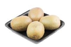 Kiwi fruit in tray Royalty Free Stock Photography