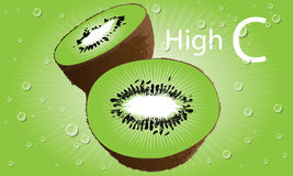Kiwi Fruit Vector Stock Images