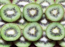 Kiwi Fruit verde delicioso e fresco fotos de stock royalty free