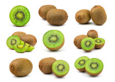 Kiwi Fruit verde fresco Imágenes de archivo libres de regalías