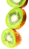 Kiwi fruit wet Royalty Free Stock Photos
