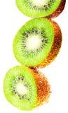 Kiwi fruit wet Royalty Free Stock Photos