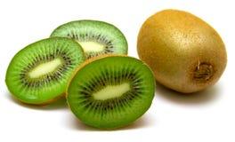 Kiwi fruit on a white Royalty Free Stock Image