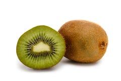 Kiwi fruit. On white background Royalty Free Stock Images