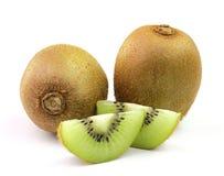 Kiwi fruit on white background Stock Image