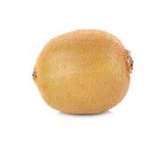Kiwi fruit on white background, macro Stock Photos