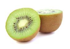 Kiwi fruit on white background. Stock Photos