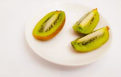 Kiwi fruit. royalty free stock photos