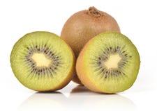 Kiwi fruits. On isolated background Royalty Free Stock Images