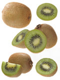 Kiwi fruits Stock Photos