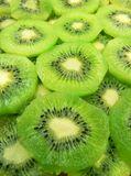 Kiwi fruits. Delicious slices of kiwi fruits Stock Photography