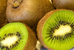 Kiwi fruits royalty free stock photography