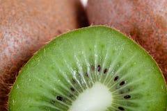 Kiwi fruits with half Royalty Free Stock Photos