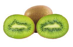 Kiwi fruits isolated Royalty Free Stock Image