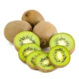 Kiwi fruits, slices Royalty Free Stock Image