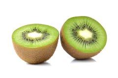 Kiwi fruits on white background Royalty Free Stock Photography