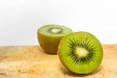 Kiwi geschnittenes half#1 Lizenzfreies Stockfoto