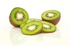 Kiwi getrennt auf Weiß Lizenzfreies Stockbild