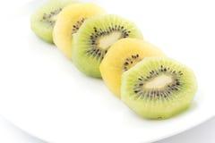Kiwi and Golden Kiwi fruit Royalty Free Stock Photography