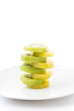 Kiwi and Golden Kiwi fruit Royalty Free Stock Image