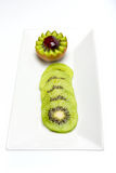 Kiwi. A great healthy fruit full of vitamins Royalty Free Stock Photography