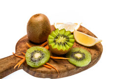 Kiwi. A great healthy fruit full of vitamins Royalty Free Stock Photos