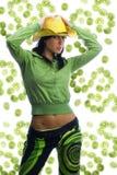 Kiwi and green stock photography