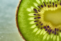Kiwi. Green Seeds Texture Pulp Royalty Free Stock Photo