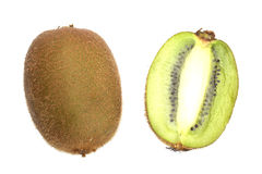 Kiwi And A Half Royalty Free Stock Photography