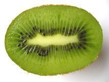 Kiwi half Royalty Free Stock Image