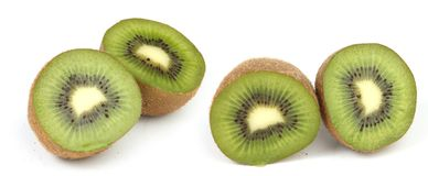 Kiwi halves Stock Image