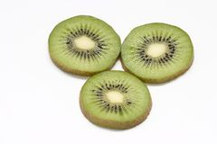 Kiwi halves Royalty Free Stock Photo