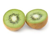 Kiwi halves Royalty Free Stock Images