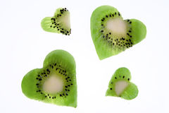 Kiwi Heart Stock Image