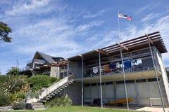 Kiwi holiday house Royalty Free Stock Images