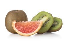 Kiwi i grapefruitowy Fotografia Royalty Free