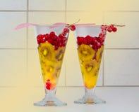 Kiwi i rodzynek dla wyśmienicie deseru Obrazy Royalty Free