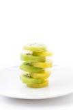 Kiwi i Złota kiwi owoc Obraz Royalty Free